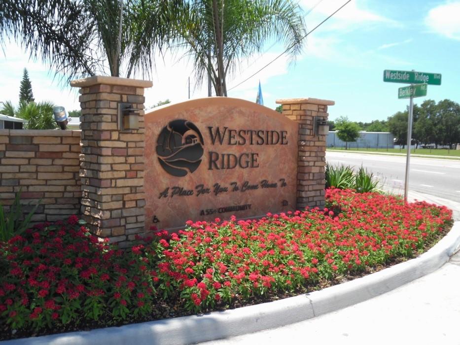 Westside Ridge Clubhouse Entrance