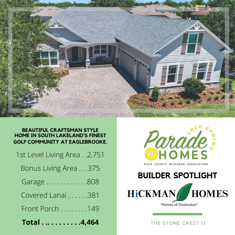 Spring Parade of Homes: May 30 & 31 and June 6 & 7, 2020, 11am - 5pm