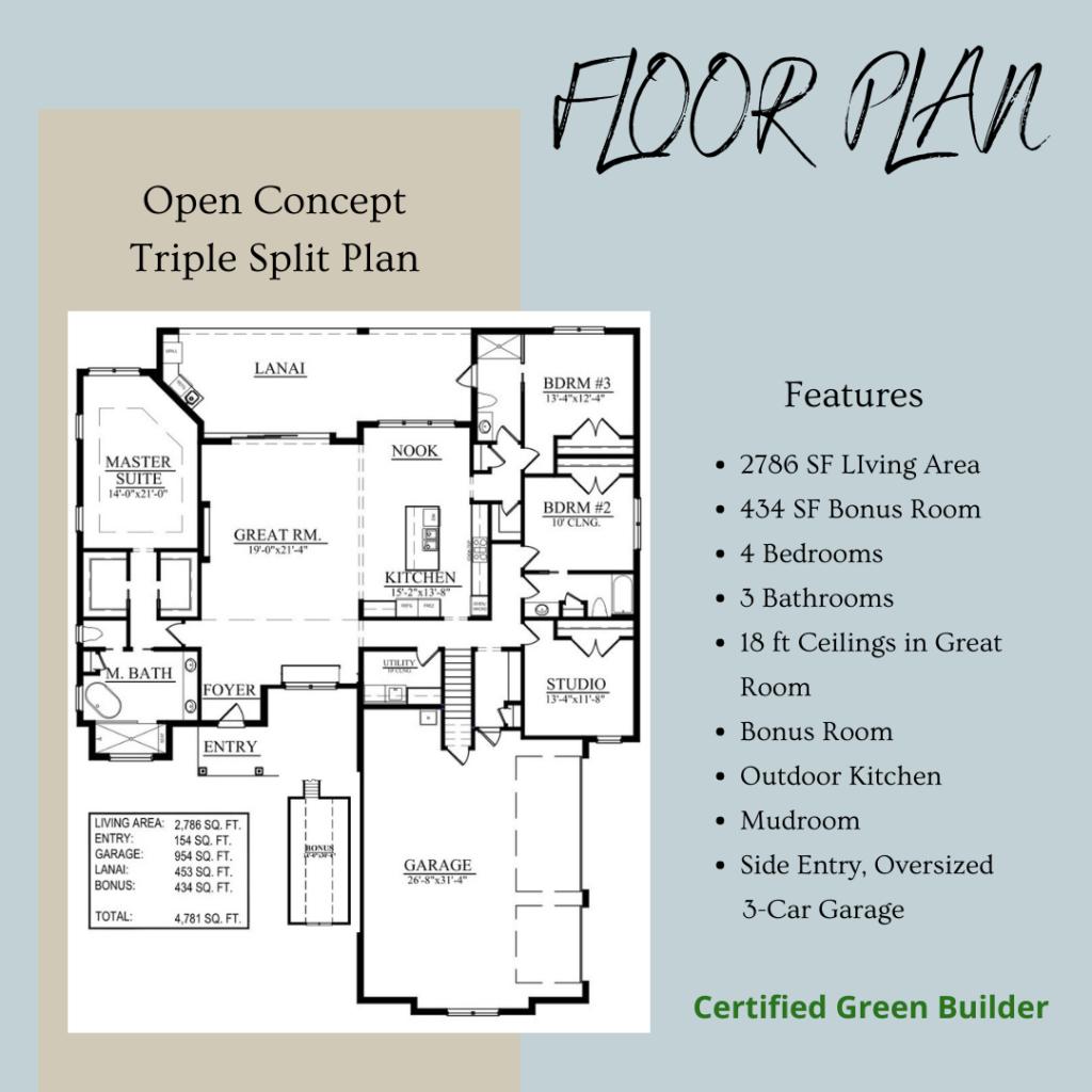 Ashford Floor Plan Highlights