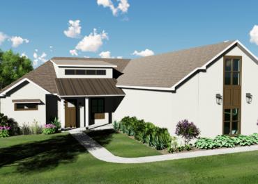 2021 Showcase Home Builder Hickman Homes debuts new modern farmhouse floor plan